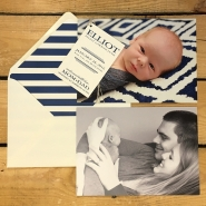 Elliot Birth Announcement
