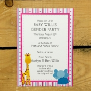 Gender Party Invitation