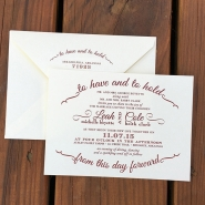 Leah B Invitation