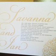 Savanna H Invitation