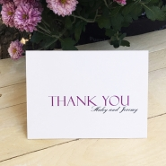 Haley P Thank You Card