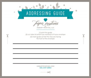 To help with addressing envelopes, use this helpful Addressing Guide ...