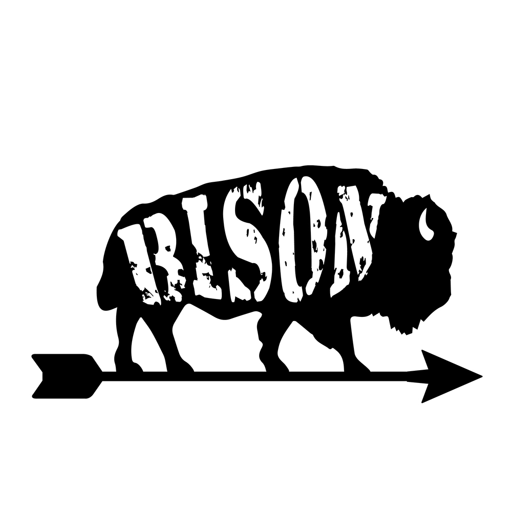 Bison Are Ready For Thanksgiving >> Behind The Blind Hobart Print Studio